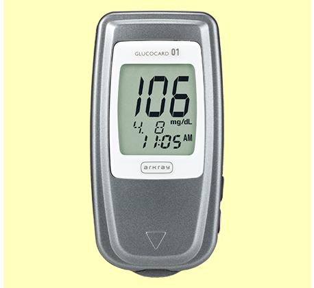 دستگاه تست قند خون 01-مینی گلوکوکارد | Glucocard Glucocard 01-mini